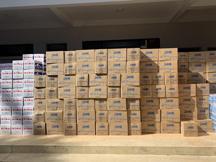 VAS đóng góp hơn 120 triệu đồng cho khu vực dịch bệnh tại Gò Vấp - Cùng chung tay đẩy lùi Covid-19