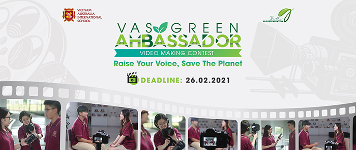 "VAS launched the video making contest ""VAS Green Ambassador 2020"""