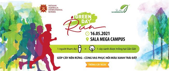 VAS chính thức phát động Chương trình chạy bộ gây quỹ trồng cây lần 2 – VAS GREEN DAY RUN 2021