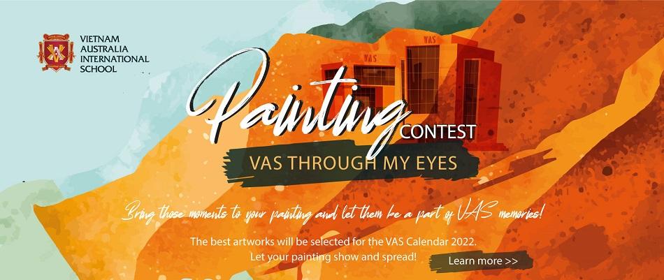 """Cuộc thi vẽ tranh """"VAS Through My Eyes"""" chính thức khởi động và nhận bài tham dự"""