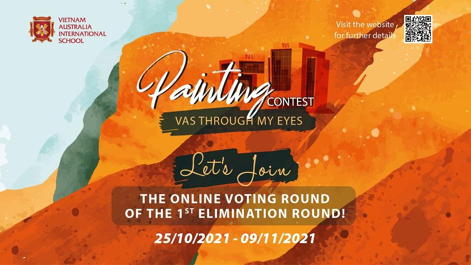 """Cùng bình chọn online cho vòng loại đợt 1 cuộc thi vẽ tranh """"VAS Through My Eyes""""!"""