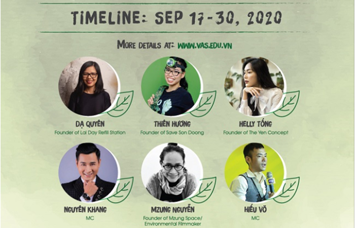 VAS TALKS 2020 - The Journey To Building A Sustainable Future!