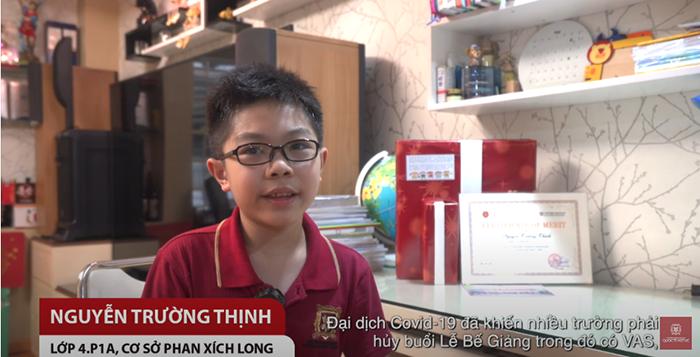 Trân trọng những kỉ niệm đáng nhớ dưới mái trường VAS – Nguyễn Trường Thịnh