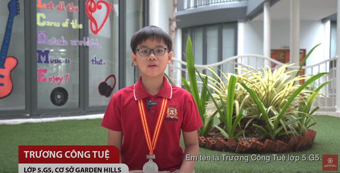 Cảm ơn và tạm biệt những năm tháng Tiểu học tươi đẹp – Trương Công Tuệ